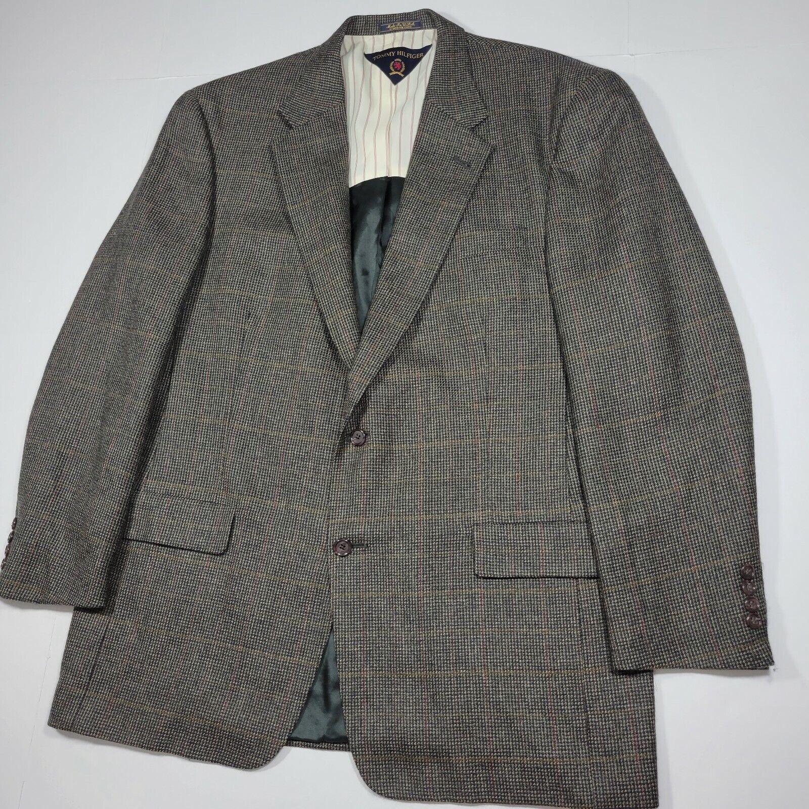 Tommy Hilfiger Sport Coat Blazer - Gray Multi Col… - image 4