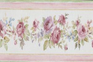 PR79654-Blumenmotiven-2-Blumenmuster-Gestreift-Multifarben-Galerie-Borduere