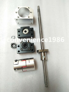 Anti-backlashed-ballscrew-RM2505-2450mm-Ballscrew-amp-BK20-BF20-amp
