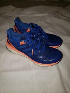 Blue/ Solar Orange Running Shoes Size