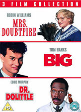 BIG / MRS DOUBTFIRE / DR DOLITTLE - DVD - REGION 2 UK