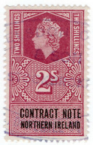 I-B-Elizabeth-II-Revenue-Contract-Note-Northern-Ireland-2