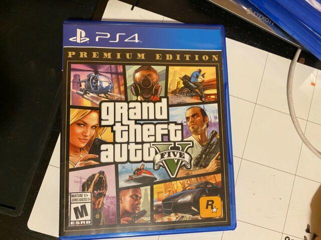 Grand Theft Auto GTA 5 PS4