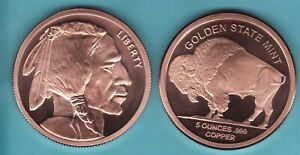 5oz Copper Round Election
