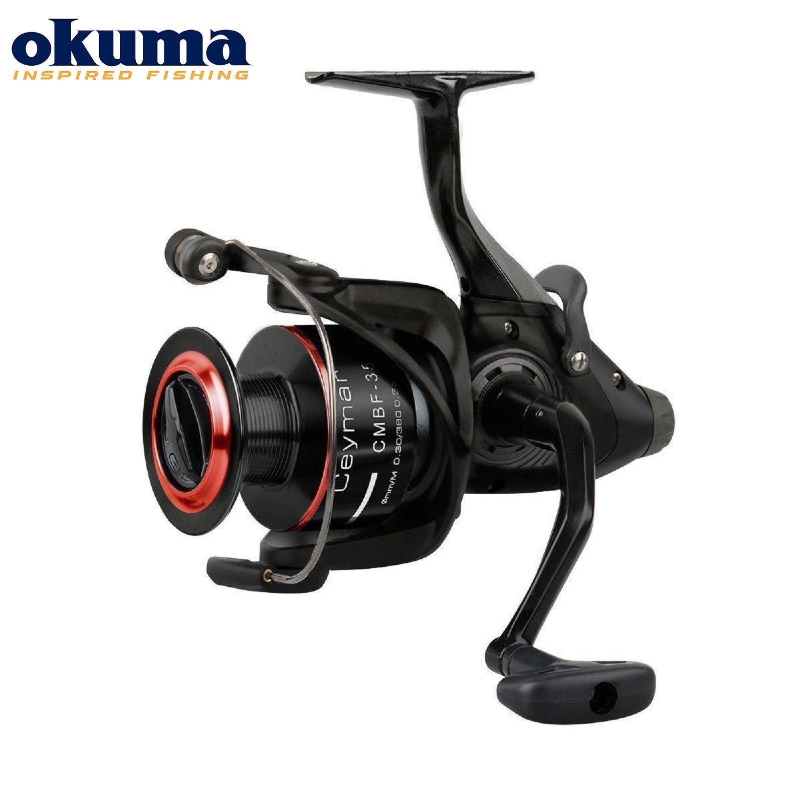 Okuma ceymar caitfeeder carp fishing reel cmbf 330-cmbf 365 various Größes