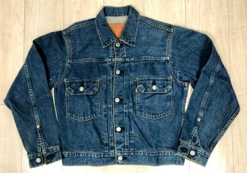 VTG LEVIS 2nd jacket 507 71507 XX selvedge 36 big
