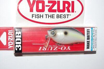 yo zuri 3db bass wake bait crank 2 3/4
