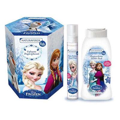 Sistematico Frozen Cofanetto Magico Bagno Con Acqua Profumata E Bagno Schiuma Al Muschio Bia