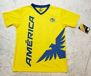 half off 29418 50e5e Details about Club America Official Licensed Rhinox Youth Jersey Giovani  Dos Santos 10