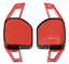 Indexbild 1 - Red Metal Paddle Shift Gear Extensions DSG Shifters For Leon MK3 Cupra
