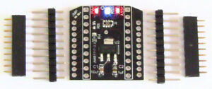 XBee-Pro-Breakout-Board-3-3V-to-5V-MCU-Pitch-0-1-034-DIP-Adapter-w-3-LED-Indicator