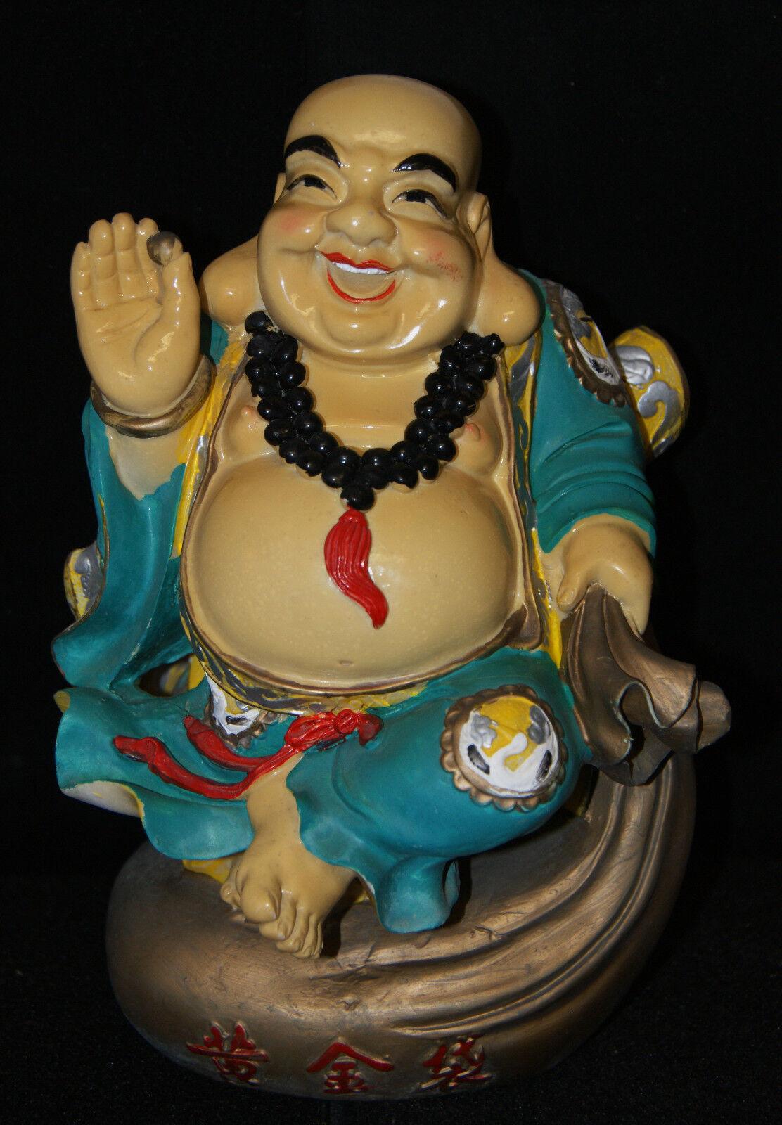 Buddha   Happy Man   Sculpture 10   Tall Farbeful. Nice