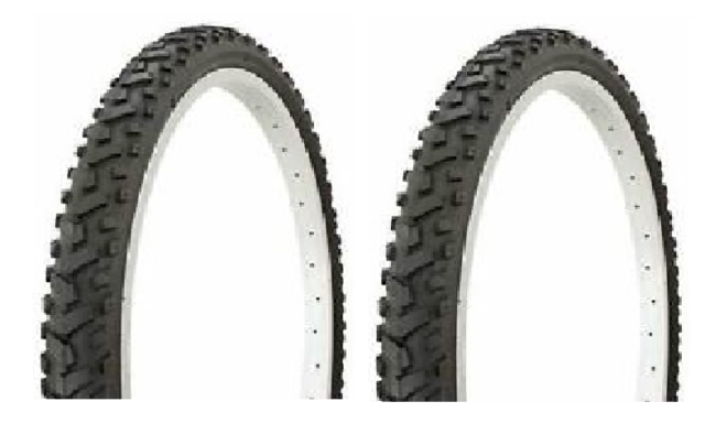 Pair Of 18x2.125 Mountain Bike Tyre VC-5010-03 With High Qualität tyre tube