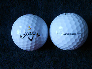 20-CALLAWAY-034-WARBIRD-034-BLACK-TICK-2017-19-MODEL-Golf-Balls-034-PEARL-034-Grade