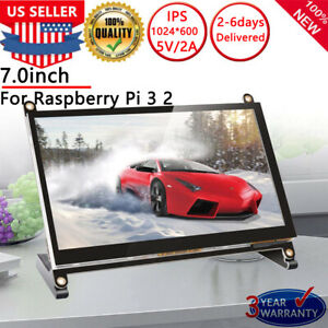 7-Inch-Touch-Screen-Display-Monitor-1024-600-For-Raspberry-Pi-3-2-Model-B-B-PC