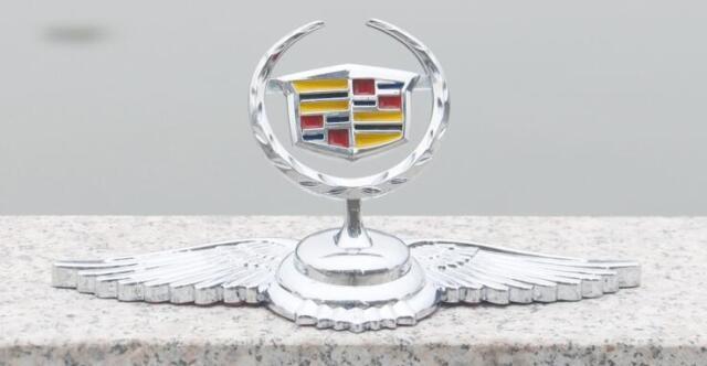 Chrome Metal Car Front Hood Ornament Sticker Badge Decal Emblem for Chevrole