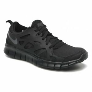 Nike Free Run 2 (Gs) Black   Dark Grey (N23) 443742-023 Older Boys ... 5cd56b0e3