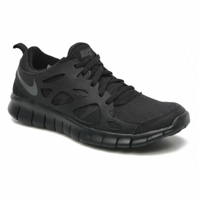 Nike Free Run 2 (gs) Negro Gris Oscuro (Tours) 443742 023 mayores Chicos formadores | eBay