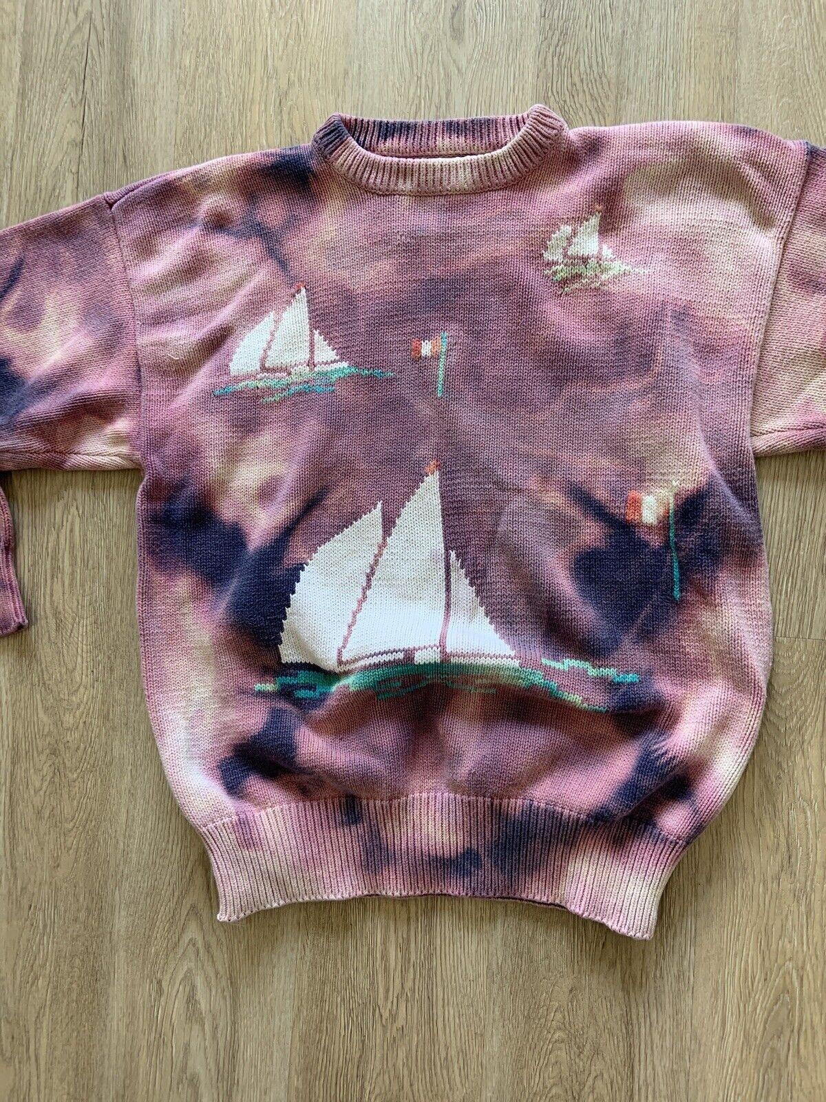 Tiedye Tie Dye Sweater VINTAGE - image 6