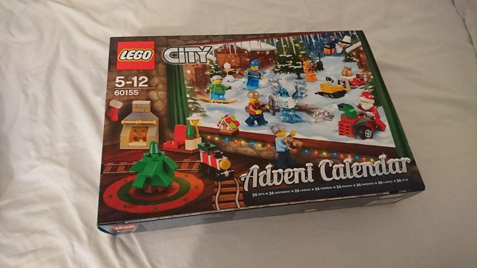 Lego City Advent Calendar 2017 60155
