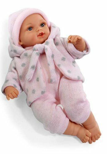 Arias  Elegance 33cm Doll with Sounds (Rosa)
