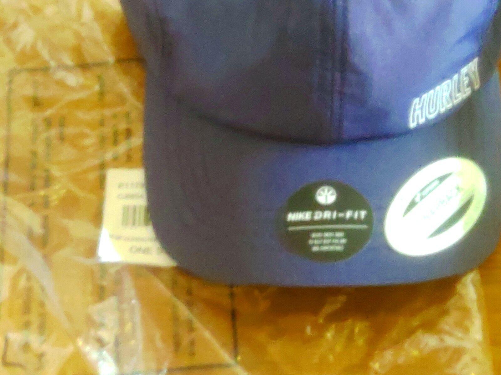 Hurley One&Only Black NikeDri Fit Basecap Schirmmütze blau/ weiß one Size- neu