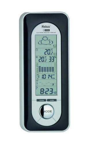 Mebus 5605 station météo Hygromètre Baromètre Horloge réveil thermomètre calendrier