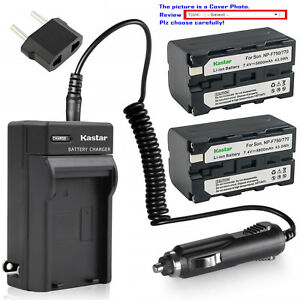 Kastar-Battery-Travel-Charger-for-Sony-NP-F770-Sony-MVC-FD73-MVC-FD75-MVC-FD81