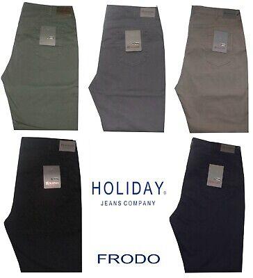 Pantalone Uomo Jeans Taglie Forti 62 64 66 68 Holiday Over Gabardin Strech Frodo