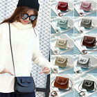 Fashion Bow Handbags Women Girls PU Leather Clutch Mini Shoulder Crossbody Bags