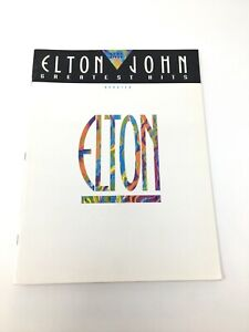 1991 Elton John's Greatest Easy Piano Updated Songbook Sheet Music