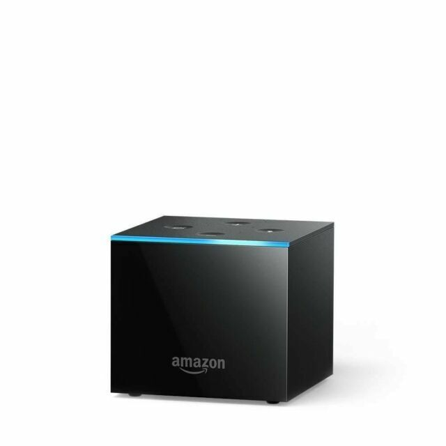 Brand New Amazon Fire TV Cube with Alexa and 4K Ultra HD Streaming Media Player