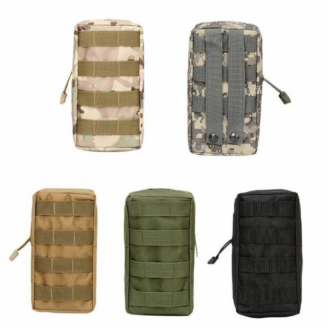 Utility Tactical Military Molle Belt First Aid Pouch Outdoor Camping Medical Bag