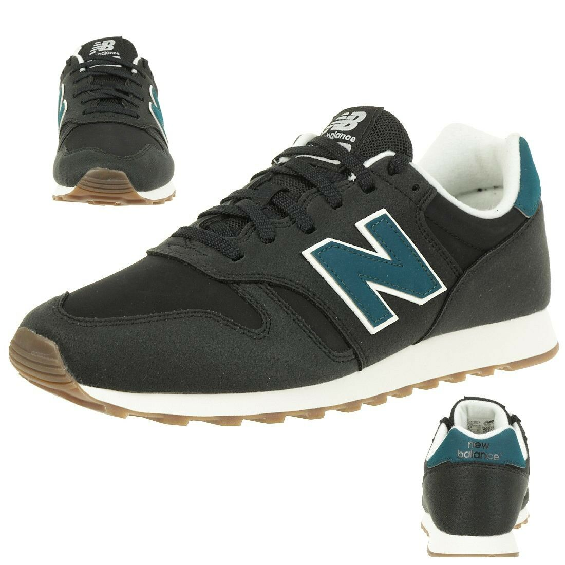 New Balance ML373BYS Classic Sneaker Herren Schuhe schwarz 373