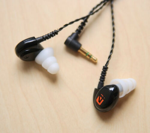 8 Large Clear Triple Flange Replacement Ear-tips Earbuds for Westone Earphones