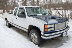 1998 Chevy 1500 extended cab long box 4x4