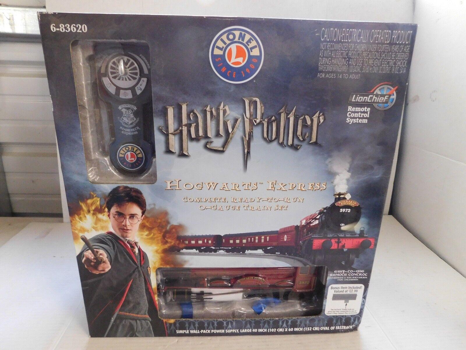 Lionel Harry Potter Hogwarts Express 6-83620 Ready Ready Ready to Run Train Set 020715