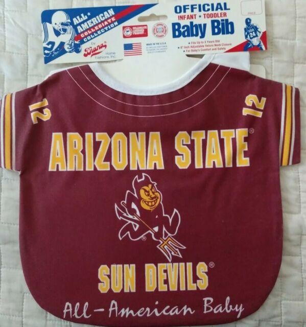 Burp Cloth ASU Arizona State Sun Devils Newborn Babies Infant Burp Rag Nursing
