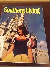 Southern Living Magazine April 1972 The Magic Kingdom Walt Disney World 228pgs