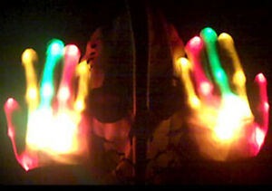 NEW-RASTA-RED-ORANGE-GREEN-XBone-L-E-D-Gloves-Rave-Burning-Man-Light-Gloves