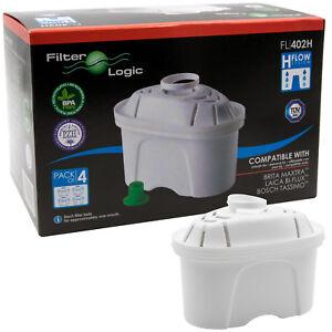 12x FilterLogic FL402H alternative Brita Maxtra Wasserfilter Filter Kartuschen