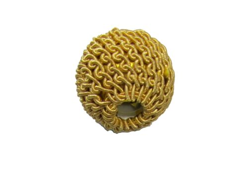 Ball Top Gold crochet knitted for Aiguillette Sold Each R1688
