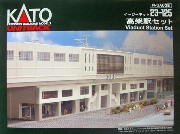 Kato 23-125 Suburban Estación para Doble Rastrear Placa (Escala N)
