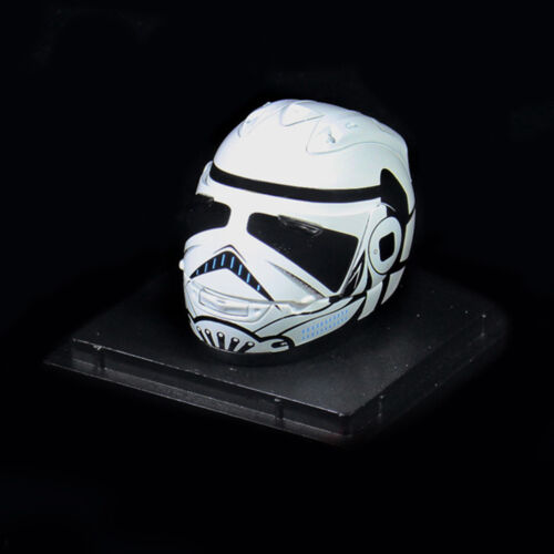 """1//6 Scale Motorcycle Helmet w//Display Box for 12/"""" Action Figure Scene Accessory"""