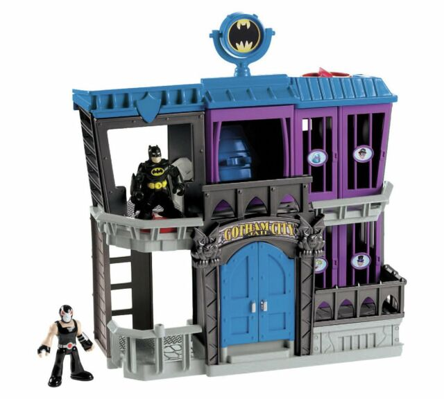 Fisher Price Imaginext DC Super Friends Gotham City Batman Toy Electronic Jail ✅