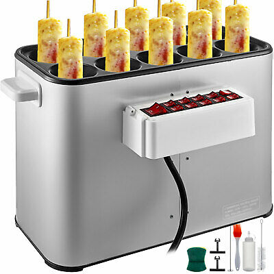 XYOUNG Automatic Egg Roll Machine,1400W 110V Electric Egg Rolls Cooker Omelet Maker,Commercial Grilled Sausage Cooker Machine Home DIY Commercial Hot Dog Roll Maker Machine for Breakfast