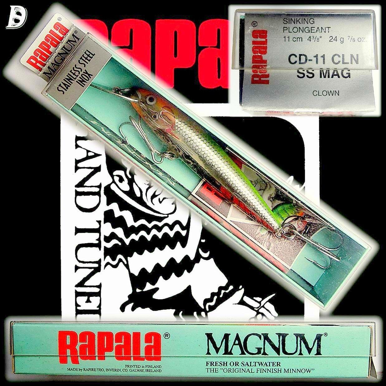 Rapala Magnum Countdown Stainless Steel 11cm SS CLN NiB Irland, sehr selten