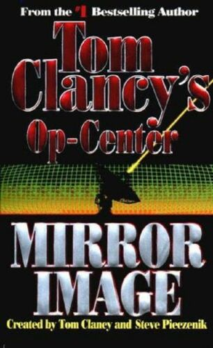 1 of 1 - Mirror Image: Op-Center #2 - Tom Clancy paperback GC (combine & save)