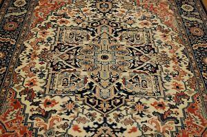 mint authentic american karastan blue heriz 748 rug carpet 5 9x9 rh ebay com