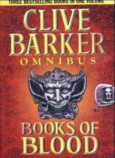 Books of Blood Omnibus Volumes 1-3 By Clive Barker
